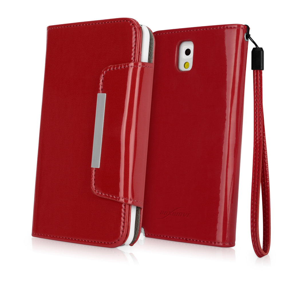 Patent Leather Clutch Galaxy Note 3 Case