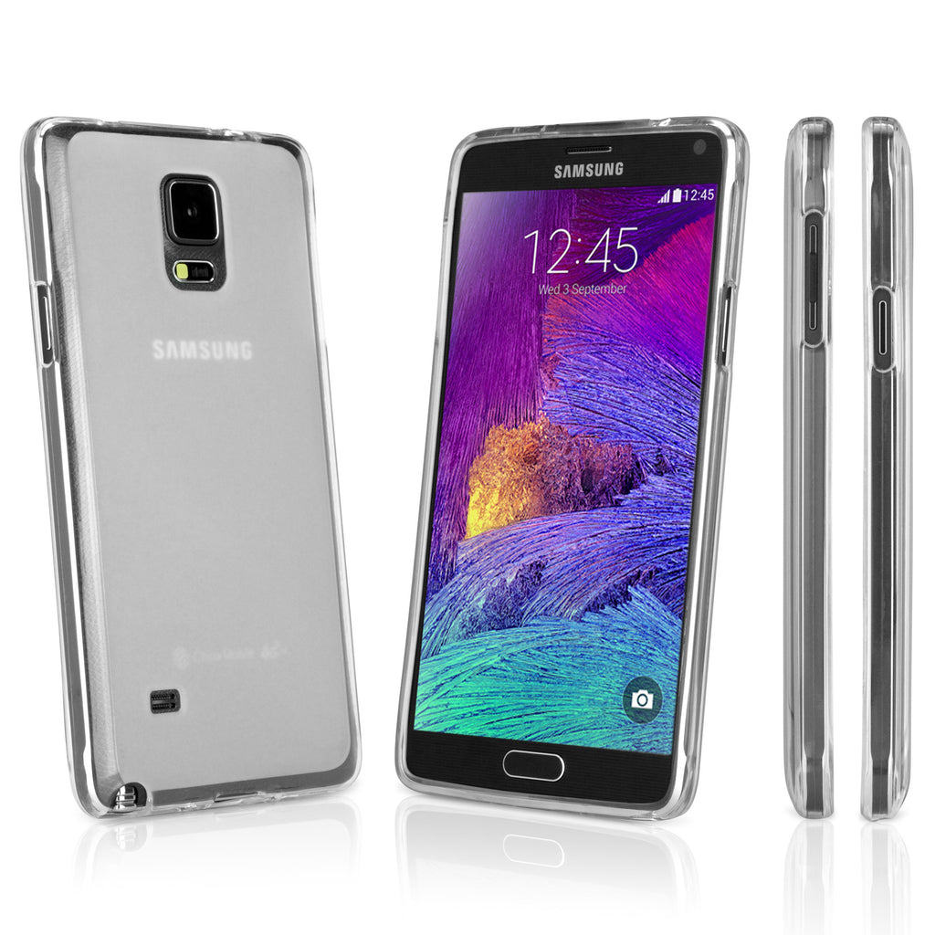 Arctic Frost Galaxy Note 4 Crystal Slip