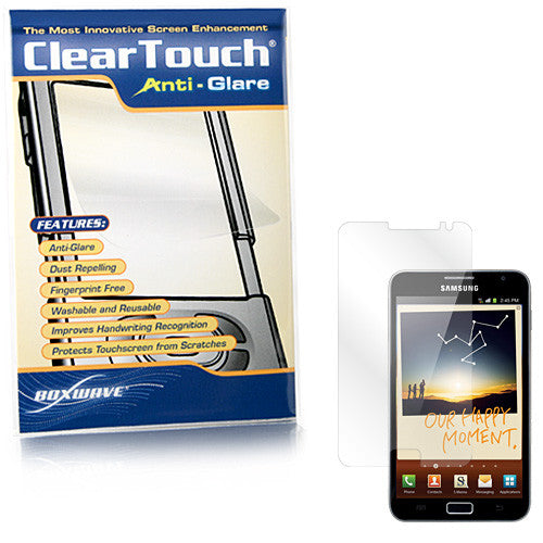 ClearTouch Anti-Glare - Samsung GALAXY Note (N7000) Screen Protector