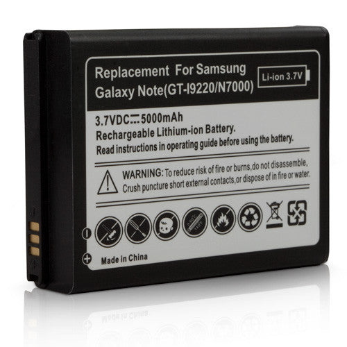 ElectraSpan Extended Battery - Samsung GALAXY Note (N7000) Battery