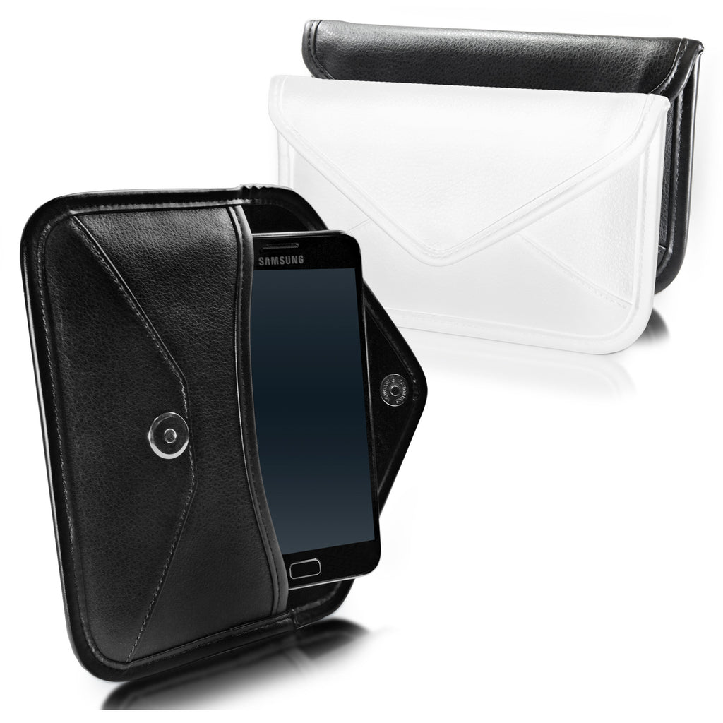 Elite Leather Messenger Pouch - Samsung GALAXY Note (N7000) Case
