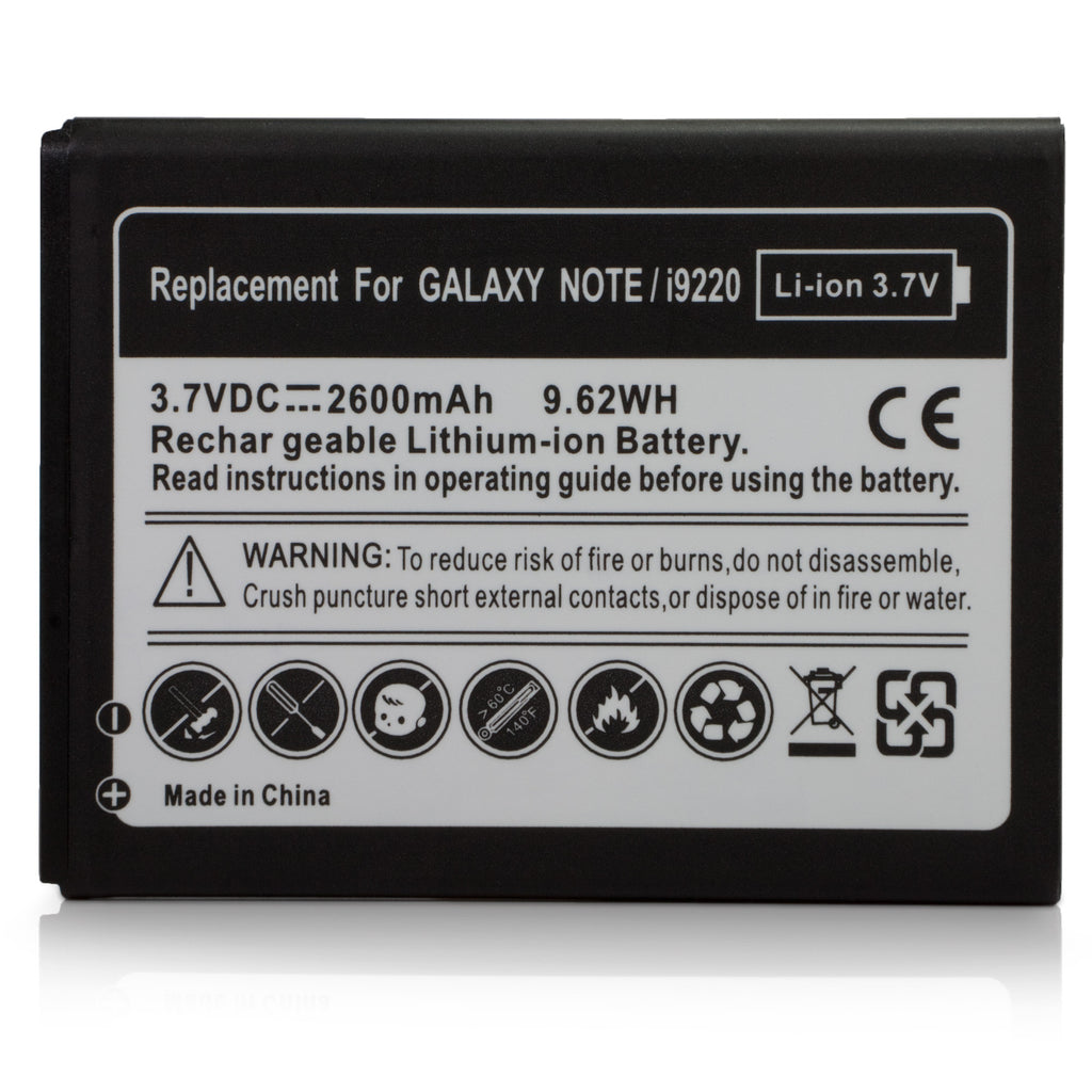 Standard Capacity Battery - Samsung GALAXY Note (N7000) Battery