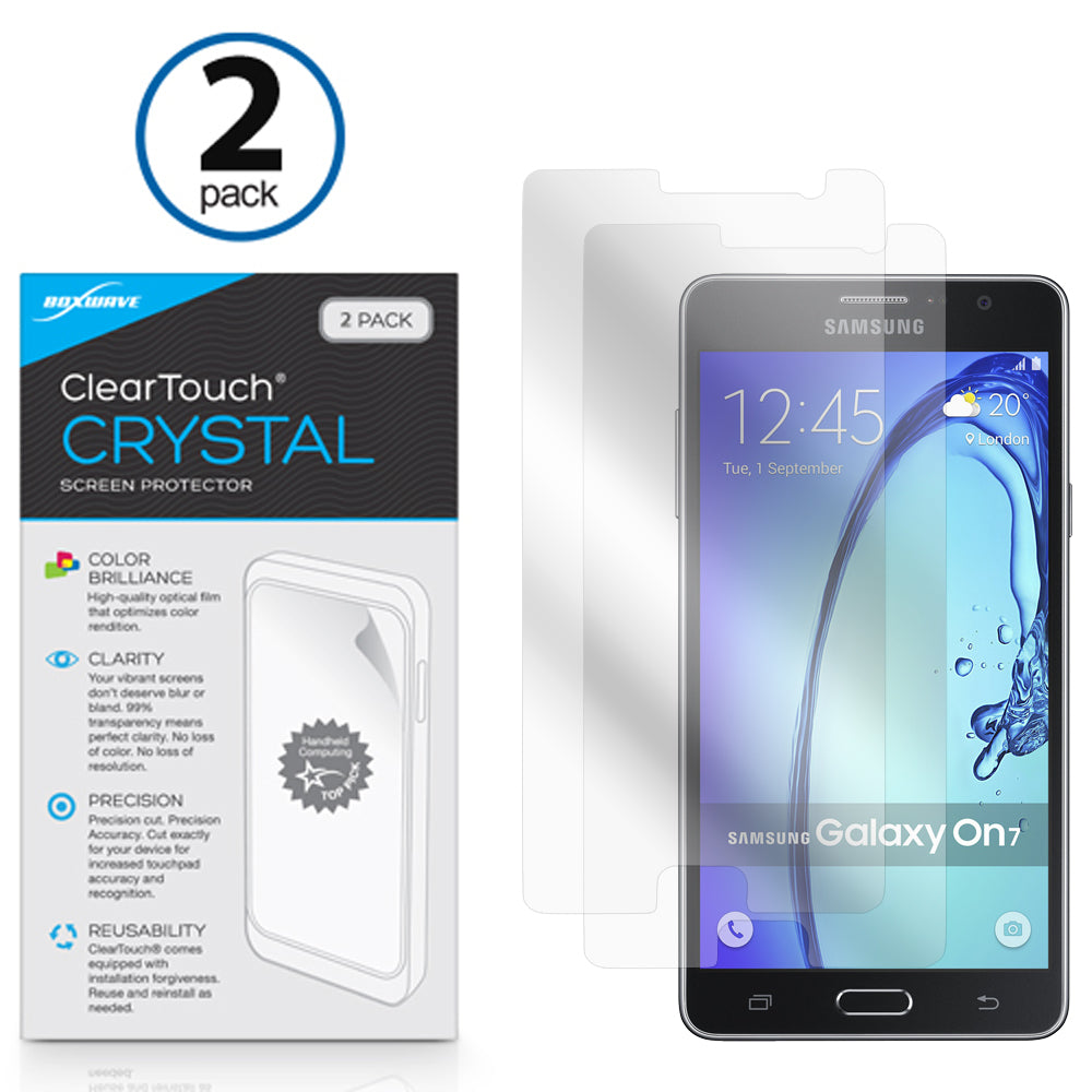 ClearTouch Crystal (2-Pack) - Samsung Galaxy On7 Screen Protector