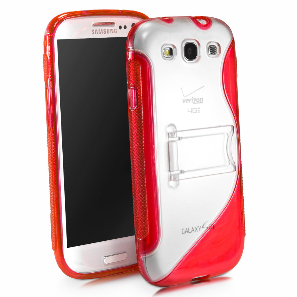 ColorSplash Galaxy S3 Case with Stand