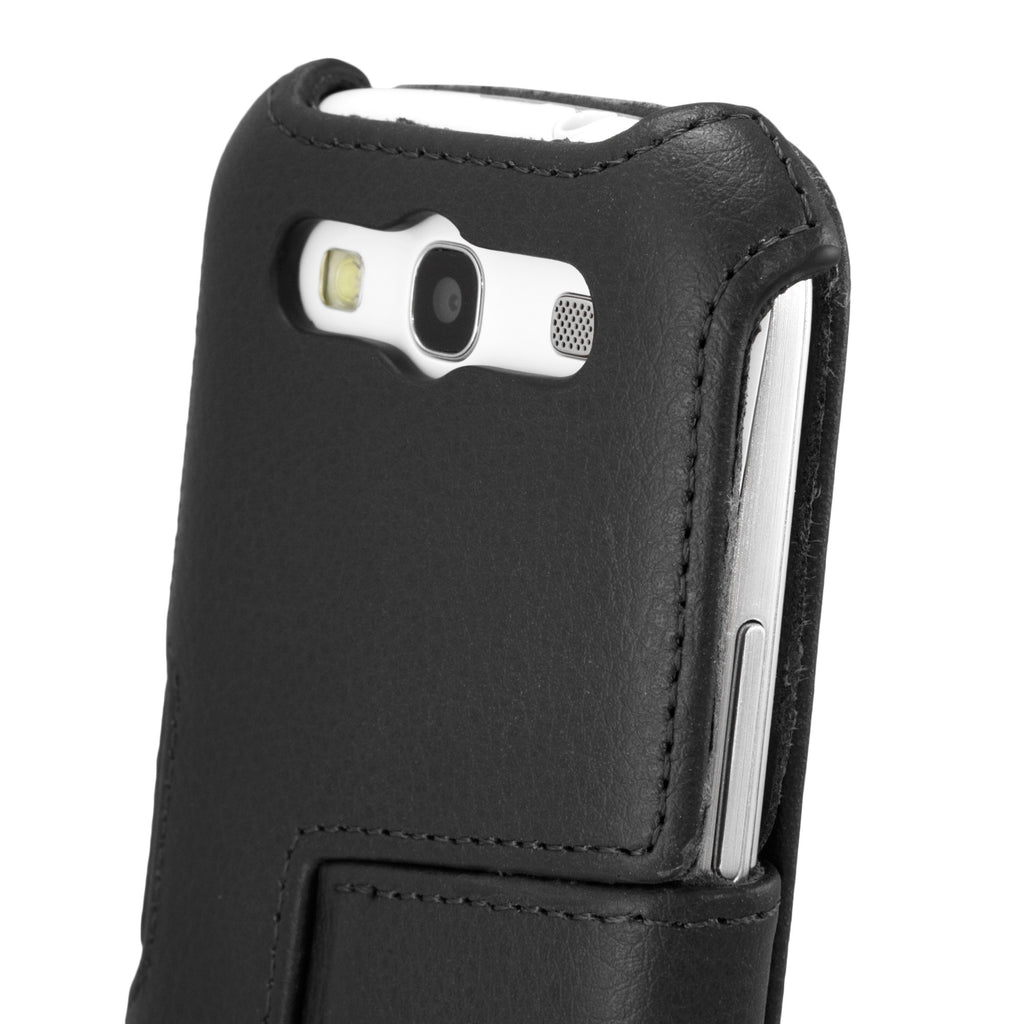 Nero Leather Book Jacket - Samsung Galaxy S3 Case