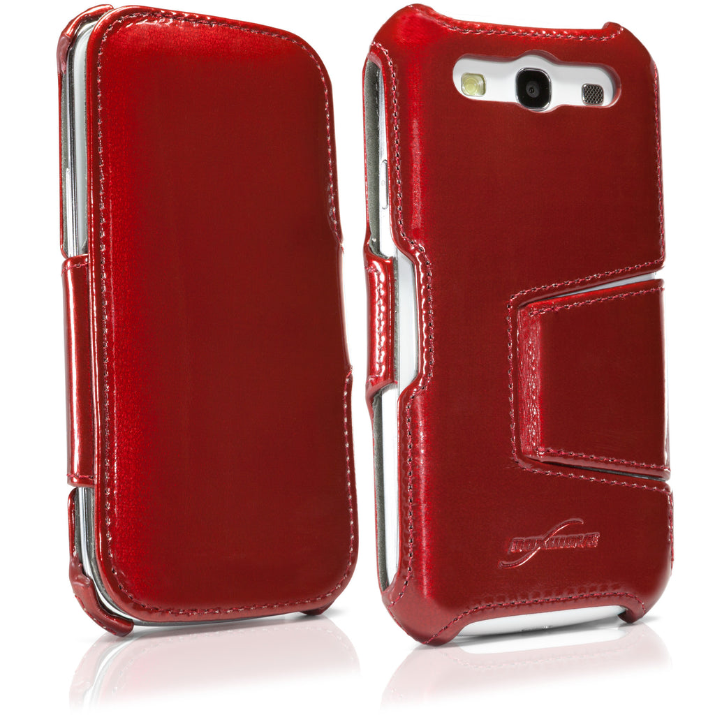 Patent Leather Galaxy S3 Book Jacket