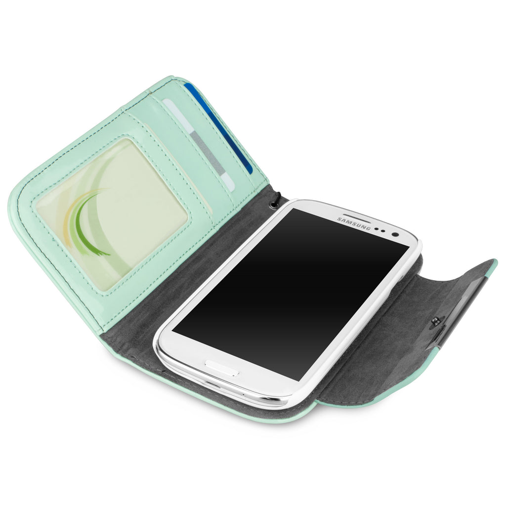 Patent Leather Clutch Case - Samsung Galaxy S3 Case