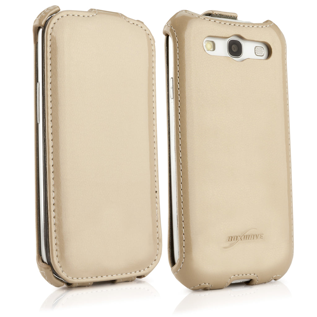 Patent Leather Flip Galaxy S3 Case
