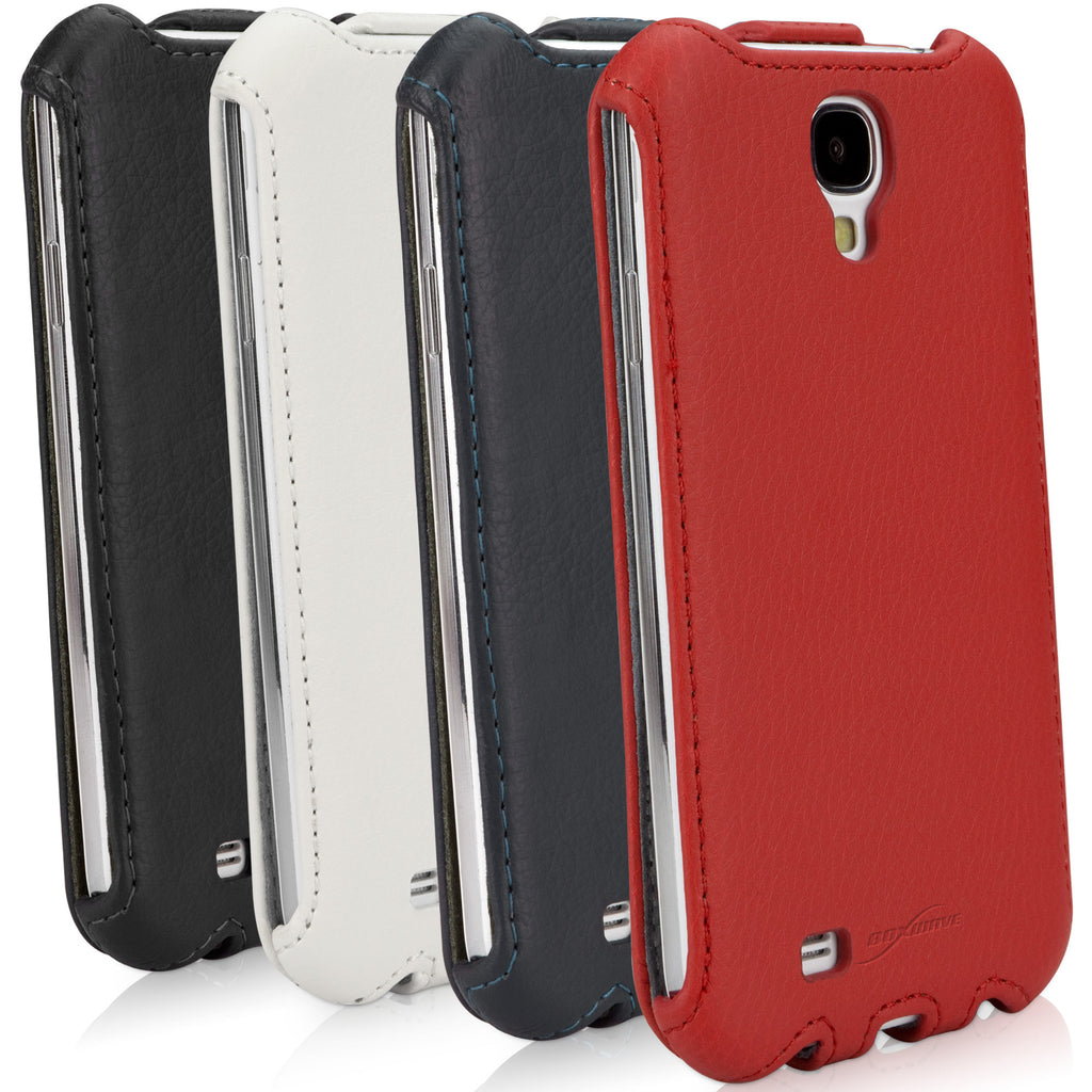 Leather Flip Case - Samsung Galaxy S4 Case