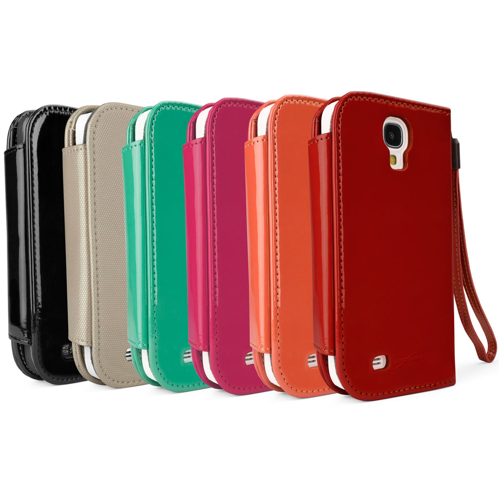 Patent Leather Clutch Case - Samsung Galaxy S4 Case