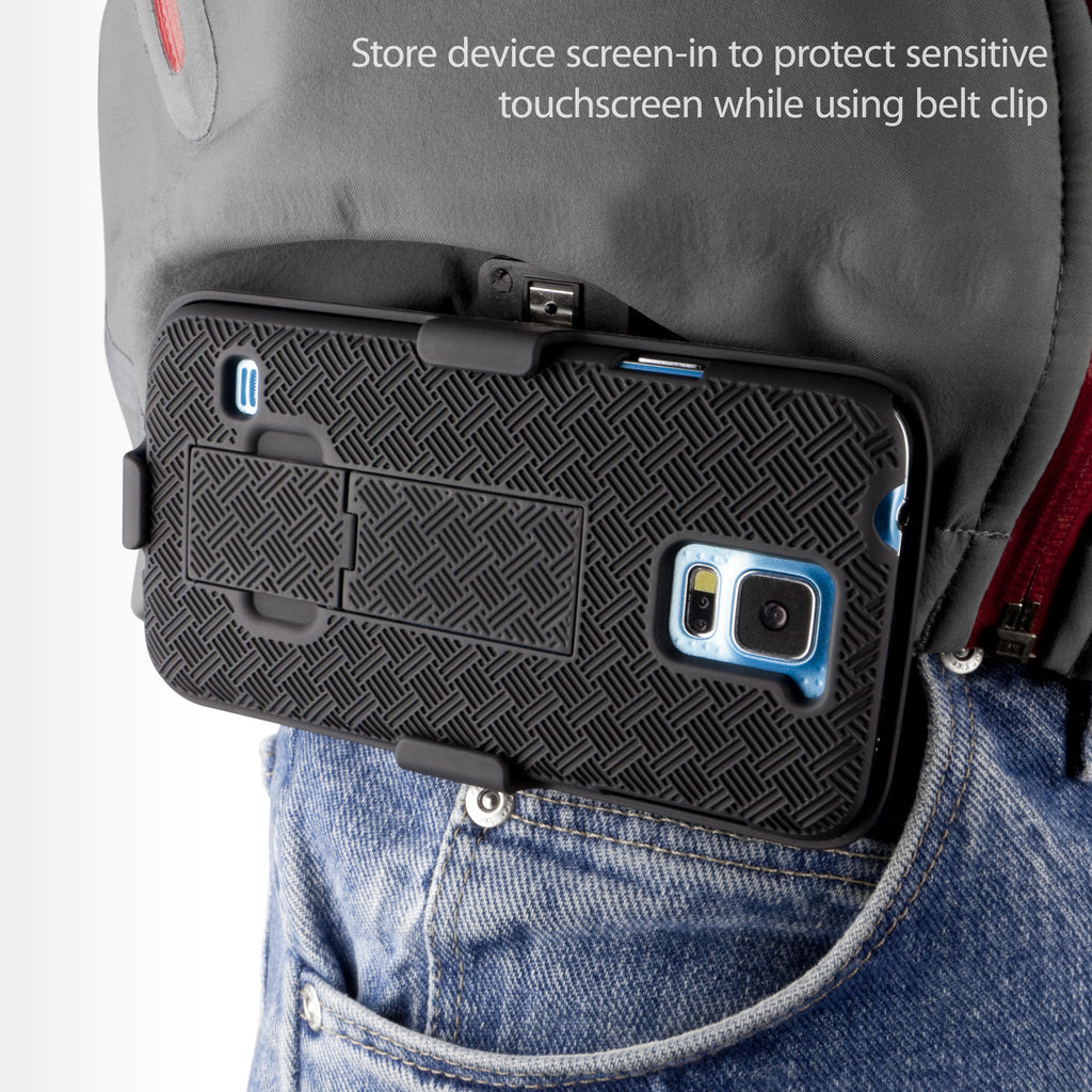 Dual+ Holster Case - Samsung Galaxy S5 Holster