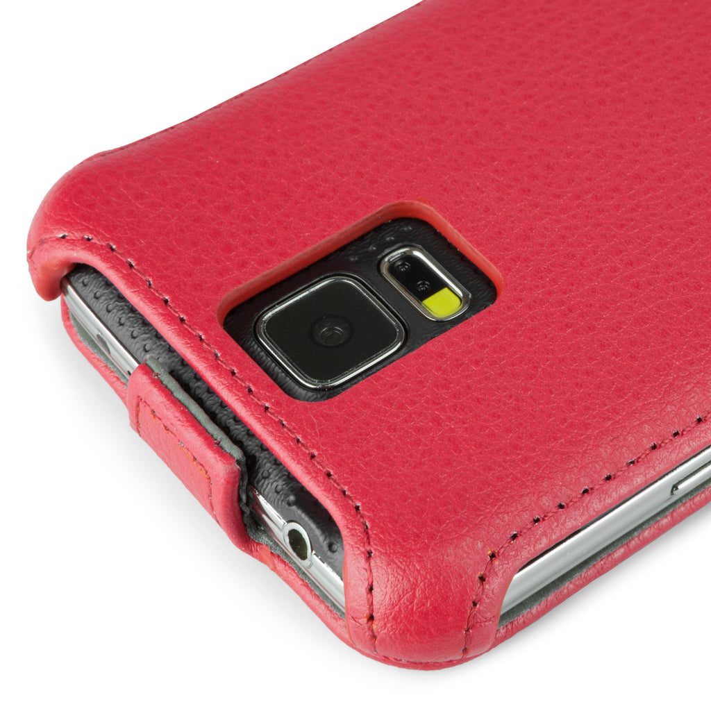 Leather Flip Case - Samsung Galaxy S5 Case