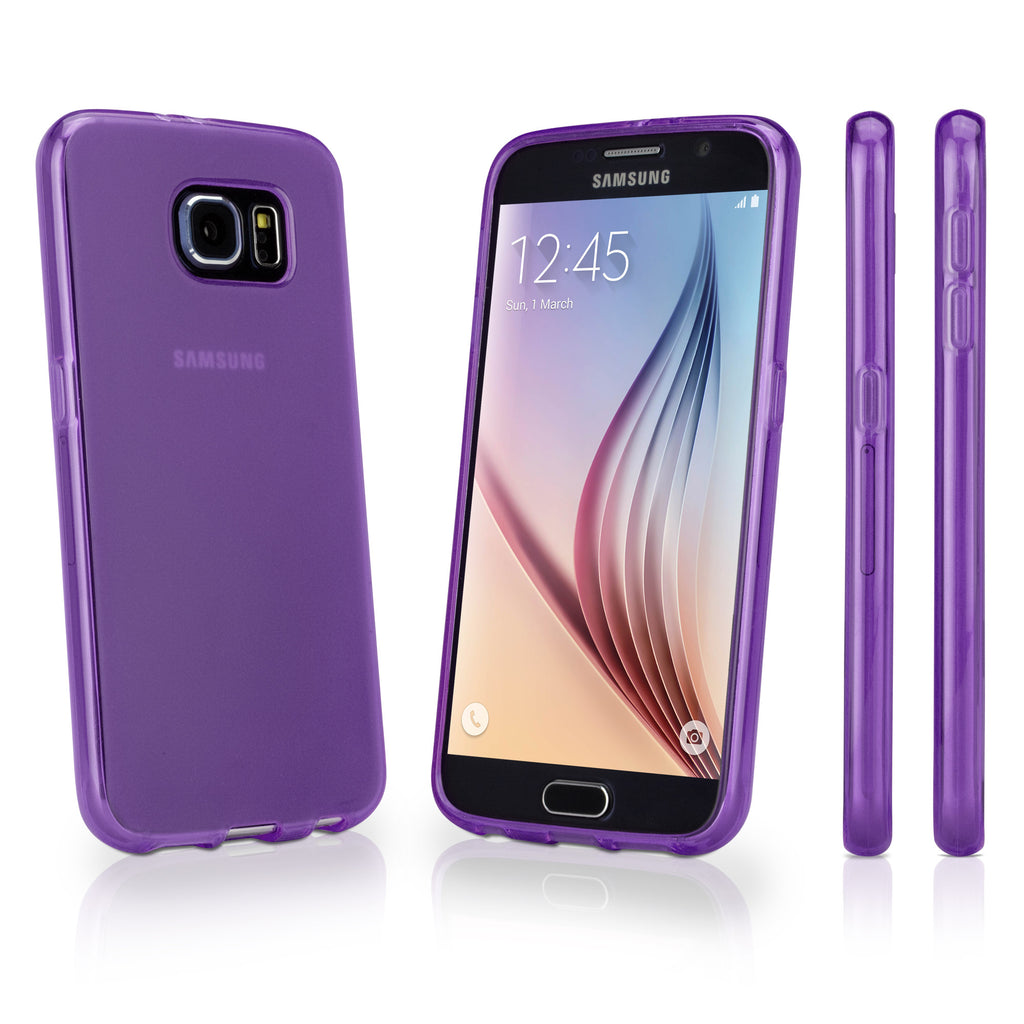 Arctic Frost Galaxy S6 Crystal Slip