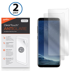 ClearTouch Anti-Glare (2-Pack) - Samsung Galaxy S8 Plus Screen Protector