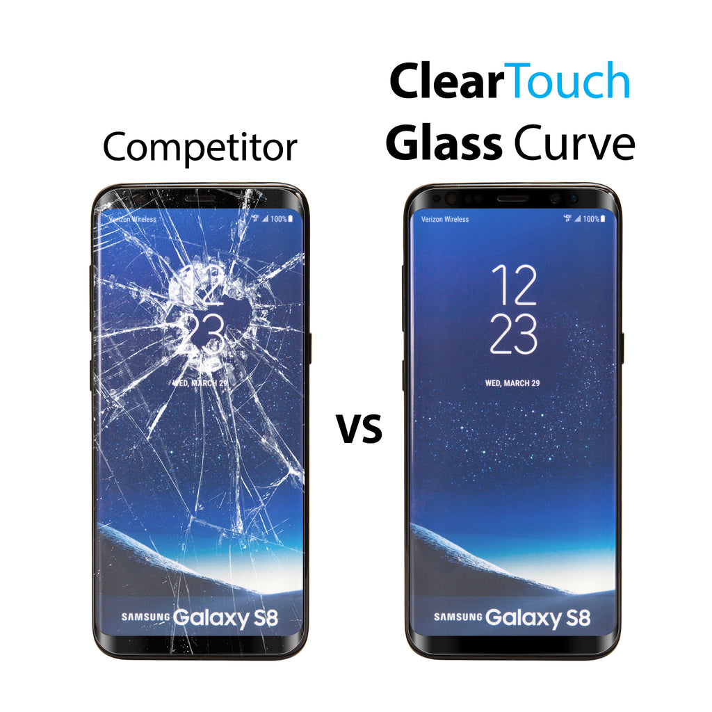 ClearTouch Glass Curve - Samsung Galaxy S8 Plus Screen Protector