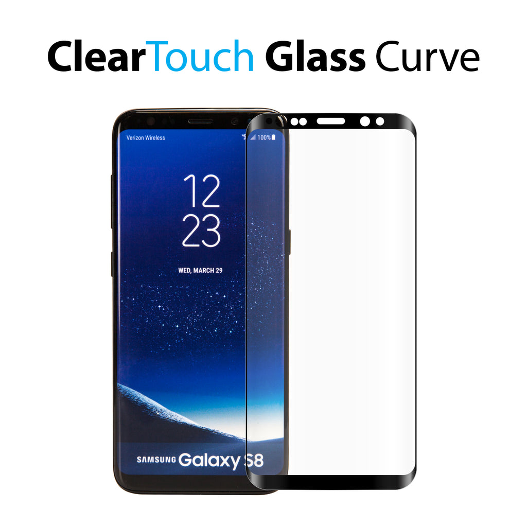 Samsung Galaxy S8 Plus ClearTouch Glass Curve