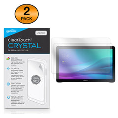 ClearTouch Crystal (2-Pack) - Samsung Galaxy View 18.4 (SM-T677) Screen Protector