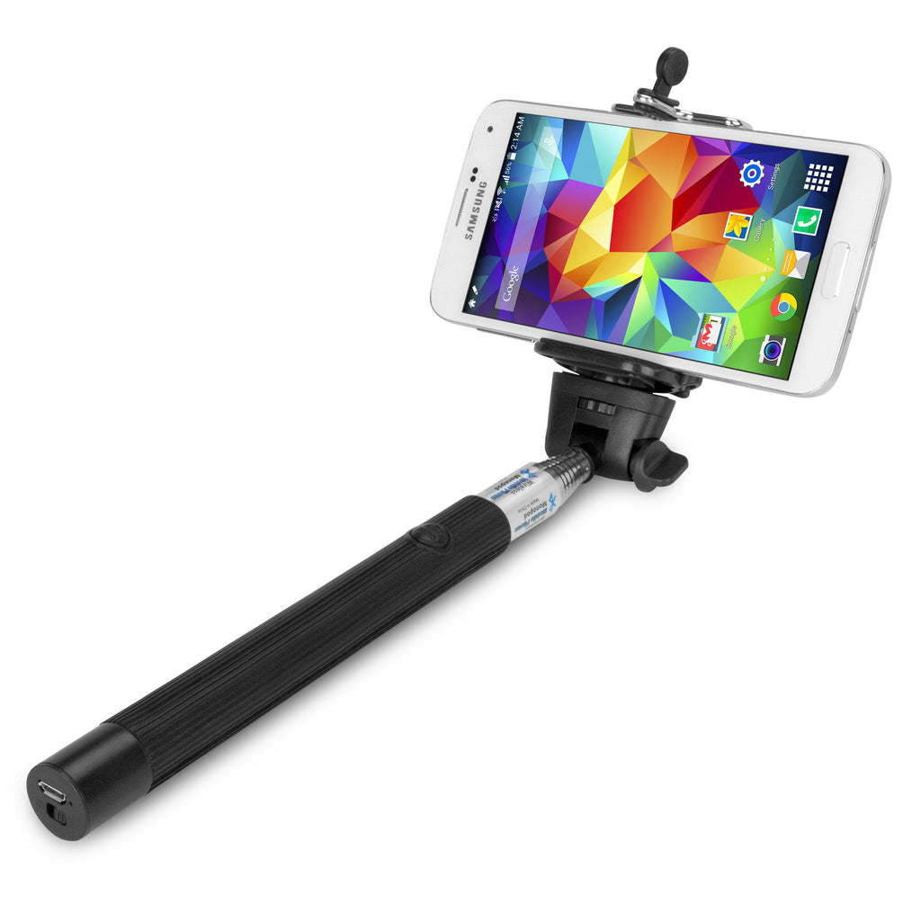SelfiePod with Bluetooth Shutter Button - Samsung Galaxy S5 Stand and Mount