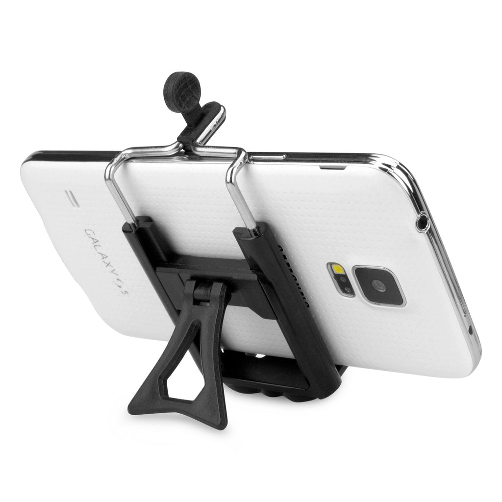 SelfiePod with Bluetooth Shutter Button - Samsung Galaxy S4 Stand and Mount