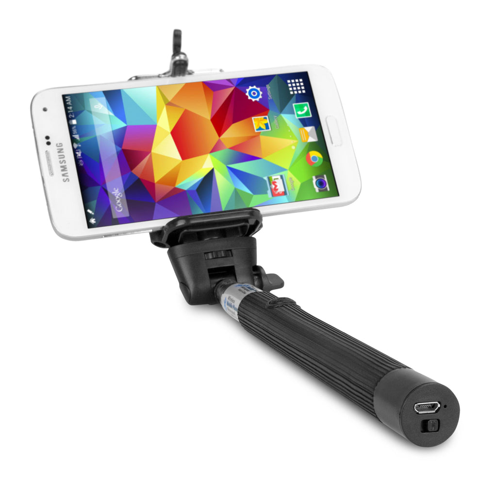 SelfiePod with Bluetooth Shutter Button - HTC Desire Eye Stand and Mount