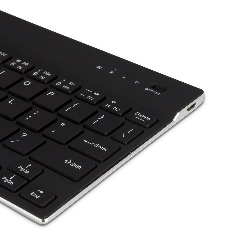 SlimKeys Bluetooth Keyboard - with Backlight - Samsung GALAXY Note (International model N7000) Keyboard