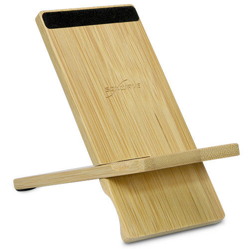 Bamboo Panel Stand - Small - Motorola Q (1st Generation) Stand and Mount