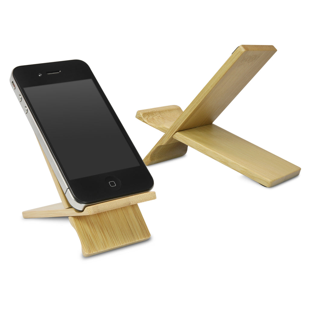 Bamboo Panel Stand - Small - Blackberry Curve 8300 Stand and Mount