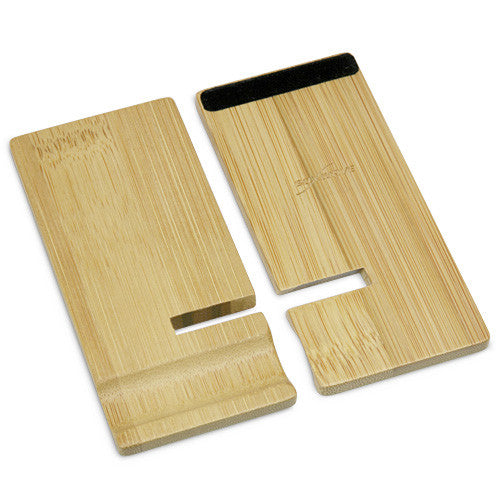 Bamboo Panel Stand - Small - Apple iPhone 3G S Stand and Mount