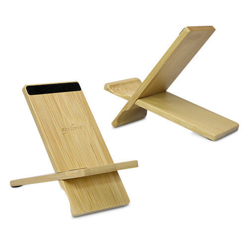 Bamboo Panel Stand - Small - Apple iPhone Stand and Mount