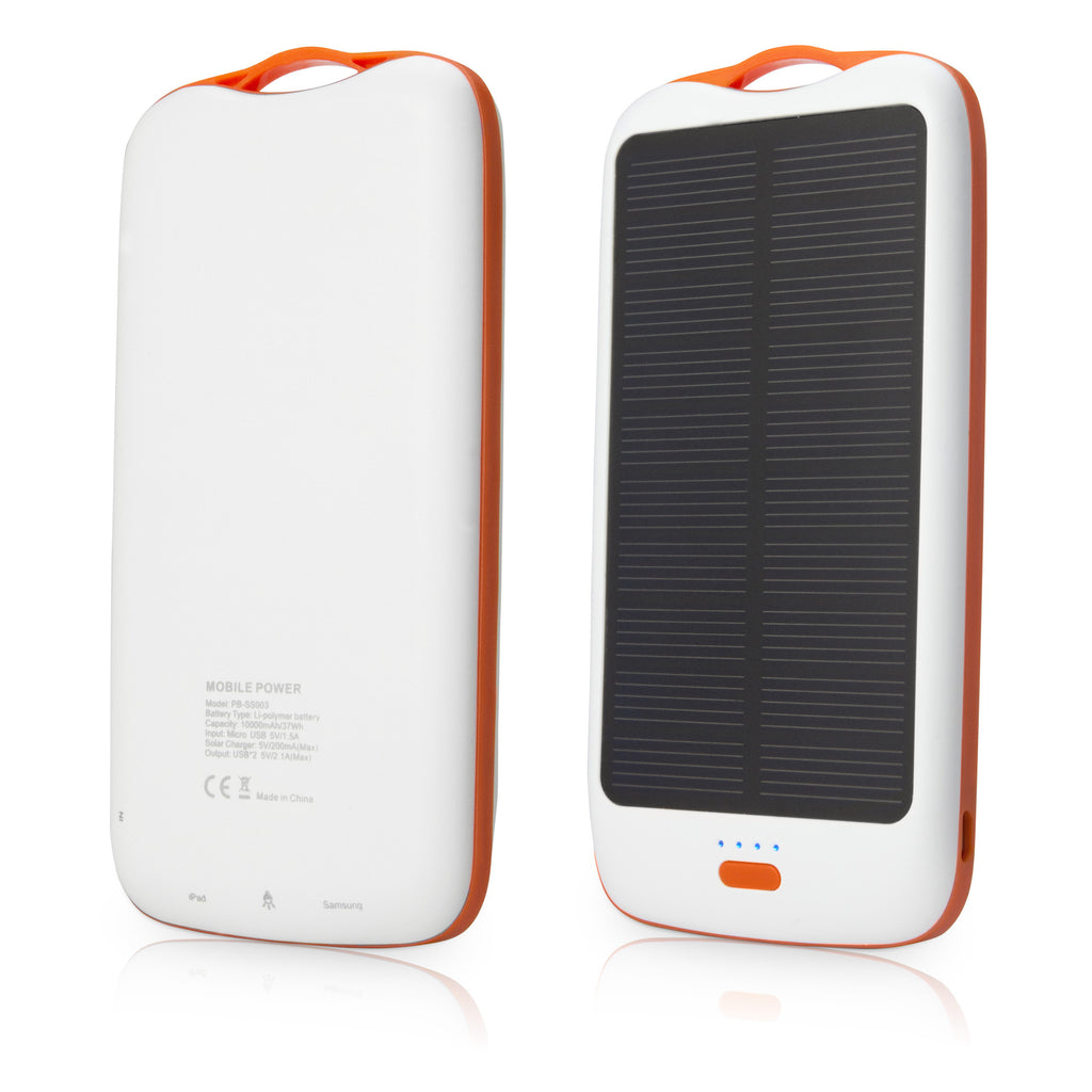Solar Rejuva PowerPack (10000mAh) - Motorola Droid X Battery