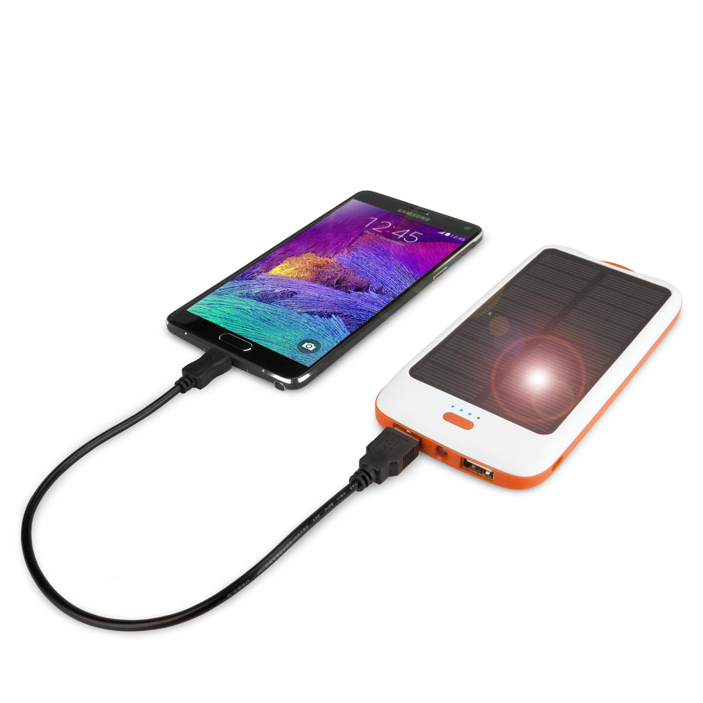 Solar Rejuva PowerPack (10000mAh) - Samsung GALAXY Note (International model N7000) Battery