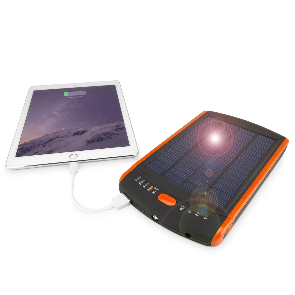 Solar Rejuva PowerPack (23000mAh) - Motorola Photon 4G Battery