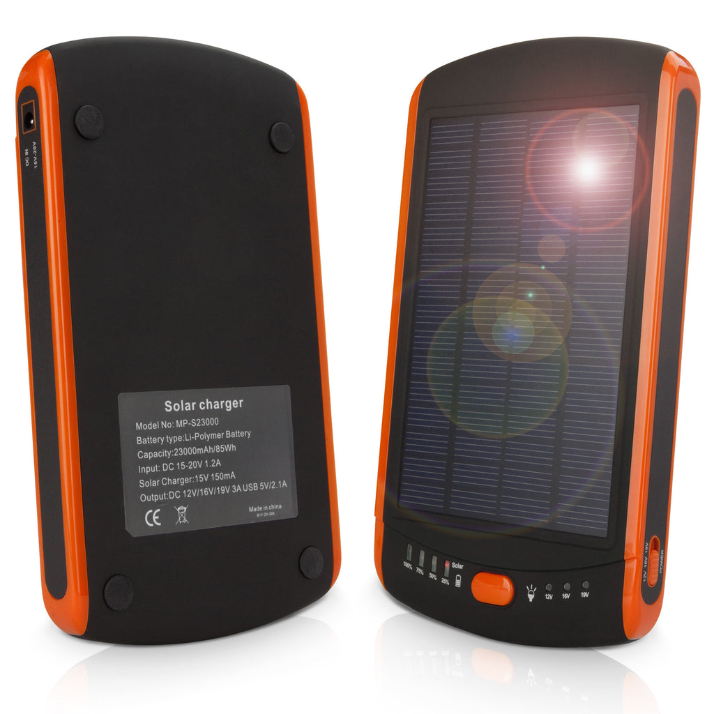 Solar Rejuva PowerPack (23000mAh) - Motorola Droid X Battery
