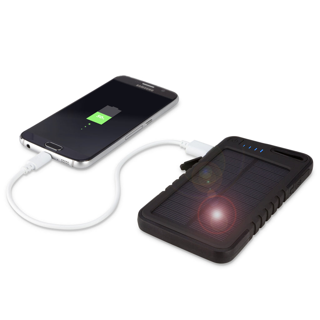 Solar Rejuva PowerPack (5000mAh) - HTC HD2 (EU and Asia Pacific version) Battery
