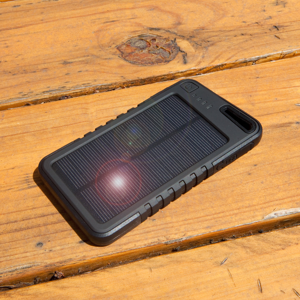 Solar Rejuva PowerPack (5000mAh) - Motorola Droid X Battery
