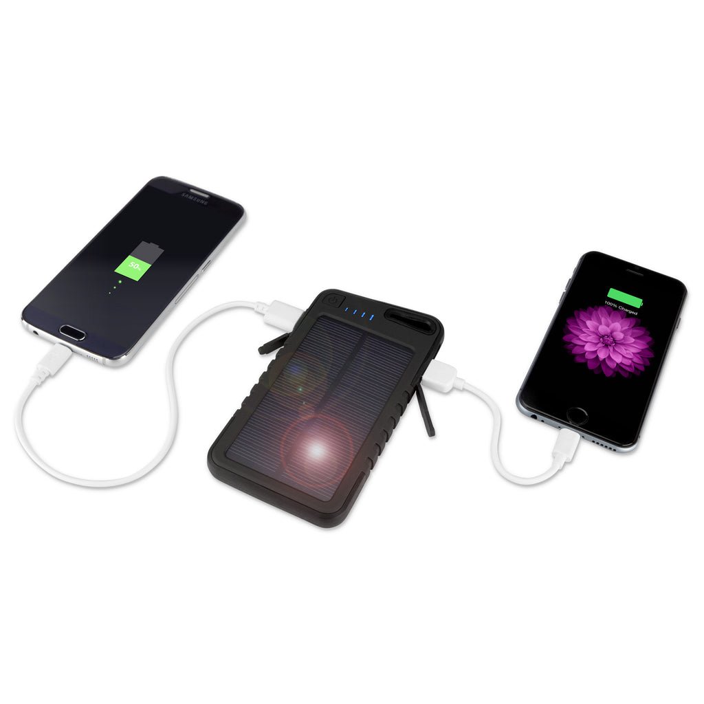 Solar Rejuva PowerPack (5000mAh) - Apple iPod touch 4G (4th Generation) Battery