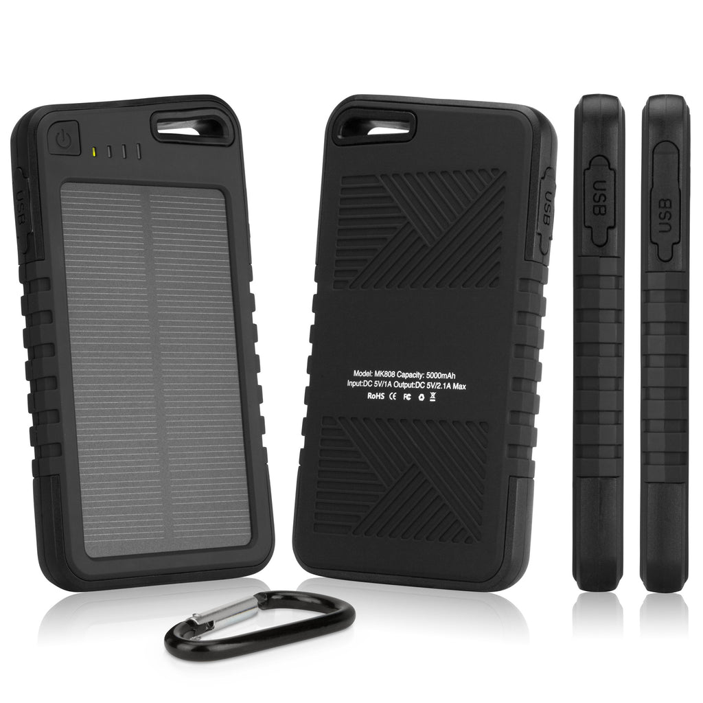Solar Rejuva PowerPack (5000mAh) - HTC One (E8) CDMA Battery