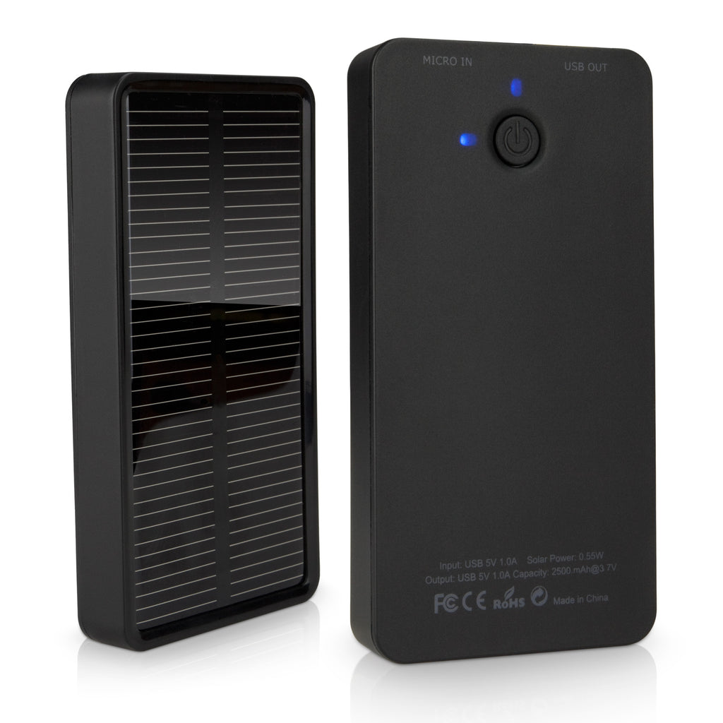 Solar Rejuva Power Pack - HTC Desire 620 dual sim Charger