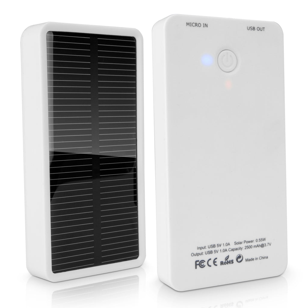 Solar Rejuva Power Pack - HTC One (M8) CDMA Charger