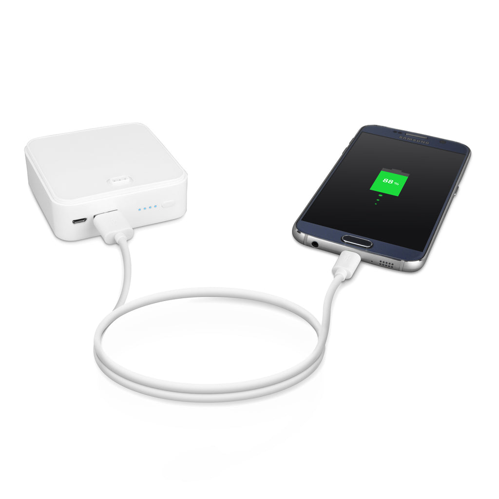 PowerTower with 6,000mAh Power Bank - Apple iPhone Charger