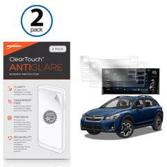 Subaru 2017 Crosstrek (7 in) ClearTouch Anti-Glare (2-Pack)