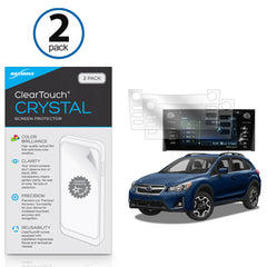 Subaru 2017 Crosstrek (7 in) ClearTouch Crystal (2-Pack)
