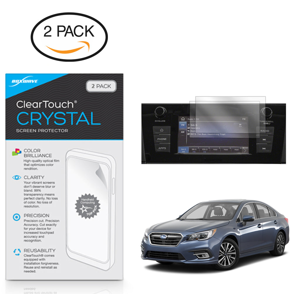 ClearTouch Crystal (2-Pack) - Subaru 2018 Legacy (6.5 in) Screen Protector