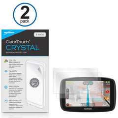 ClearTouch Crystal (2-Pack) - TomTom Go 50S Screen Protector