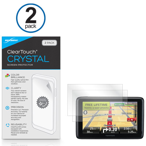TomTom Go 2435M ClearTouch Crystal (2-Pack)