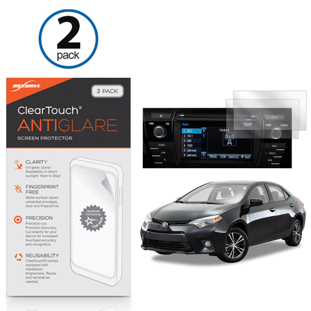 ClearTouch Anti-Glare (2-Pack) - Toyota 2016 Corolla Screen Protector