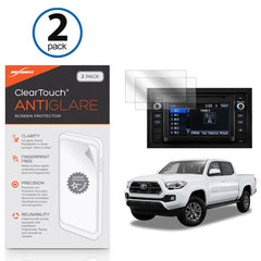 Toyota 2016 Tacoma (6.1 in) ClearTouch Anti-Glare (2-Pack)