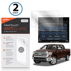 Toyota 2017 Tundra (6.1 in) ClearTouch Anti-Glare (2-Pack)