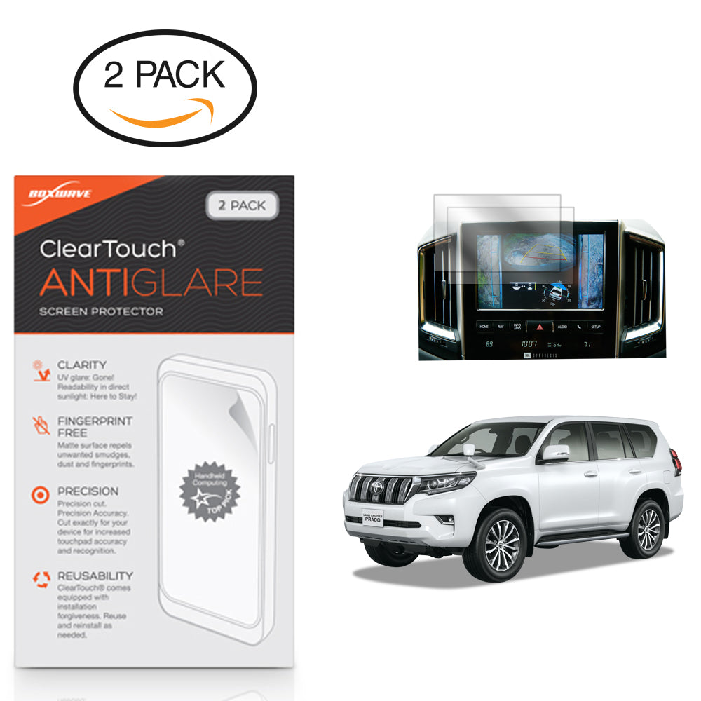 ClearTouch Anti-Glare (2-Pack) - Toyota 2018 Land Cruiser (9 in) Screen Protector