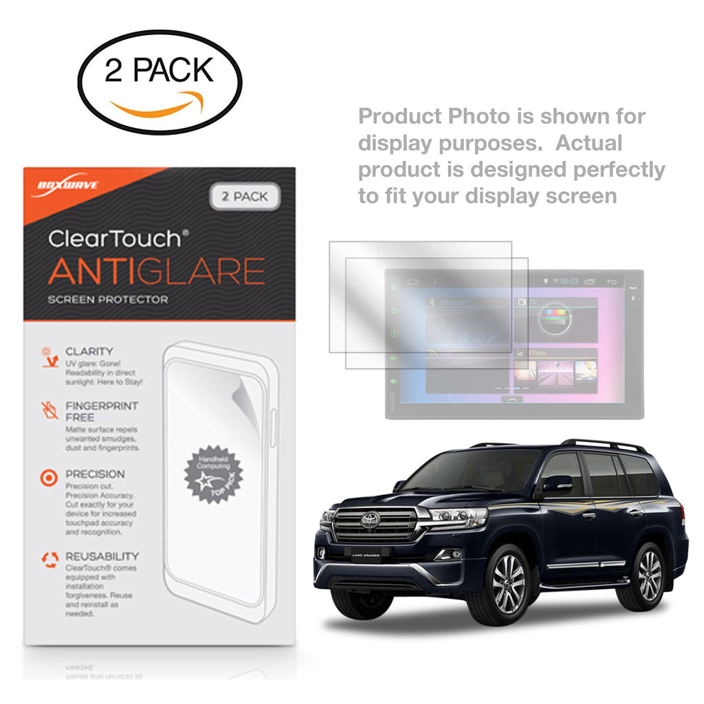 ClearTouch Anti-Glare (2-Pack) - Toyota 2018 Land Cruiser (11.6 in Rear Display) Screen Protector